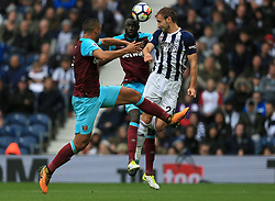 Craig Dawson of West Bromwich Albion rises for a header but the chance goes begging - Mandatory by-line: Paul Roberts/JMP - 16/09/2017 - FOOTBALL - The Hawthorns - West Bromwich, England - West Bromwich Albion v West Ham United - Premier League