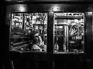 Male in bar alone