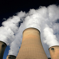 Drax Power Station cooling towers