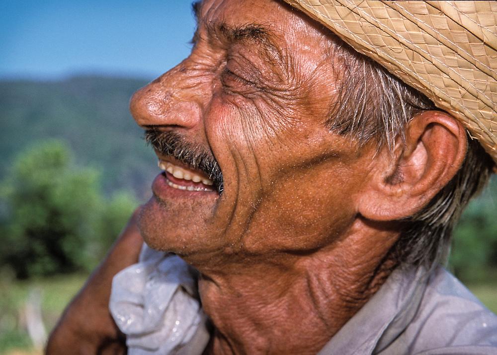 Tobacco Farmer, near Havana, Cuba