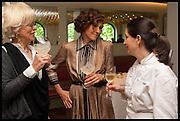 LARA GILMORE; LICIA GRANELLO; ELENA ARZAK, Veuve Clicquot World's Best Female chef champagne tea party. Halkin Hotel. Halkin St. London SW1. 28 April 2014.