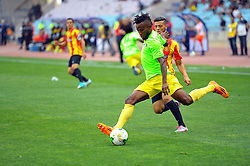 May 12, 2017 - Rades, Tunisia - Muzinga  Ngonda of Vita club during the First day of the group stage of the Champions League  2017 Total  between Esperance Sportive de Tunis (EST) and the formation of AS Vita Club (RD Congo) at the Rades stadium..The Esperance Sportive de Tunis (EST) won by 3/1. (Credit Image: © Chokri Mahjoub via ZUMA Wire)