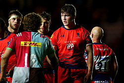 Ted Hill of Worcester Warriors - Mandatory by-line: Robbie Stephenson/JMP - 12/11/2017 - RUGBY - Twickenham Stoop - London, England - Harlequins v Worcester Warriors - Anglo-Welsh Cup