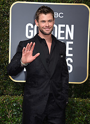 Kit Harington at the 75th Annual Golden Globe Awards held at the Beverly Hilton Hotel on January 7, 2018 in Beverly Hills, CA ©Tammie Arroyo-GG18/AFF-USA.com. 07 Jan 2018 Pictured: Chris Hemsworth. Photo credit: MEGA TheMegaAgency.com +1 888 505 6342
