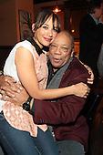 'Dinner with Bevy' honoring Jesse Williams and Rashida Jones presented by Moet & Chandon