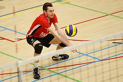 20180324 NED: Topdivisie Maatwerkers VCN - Next Volley Dordrecht, Capelle aan den IJssel <br />Cain van Hal (9) of Maatwerkers VCN <br />©2018-FotoHoogendoorn.nl / Pim Waslander
