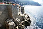 Croatia, Dubrovnik, the Walled Old City the old fort