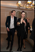 OTIS FERRY; EDIE CAMPBELL; , Alice in her Palace party, Alice Naylor-Leyland launch of her  blog, Alice in her Palace, Drawing Room at Fortnum & Mason. 27 March 2014