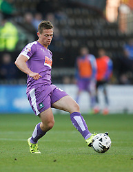 Craig Tanner of Plymouth Argyle in action - Mandatory byline: Jack Phillips / JMP - 07966386802 - 11/10/2015 - FOOTBALL - Meadow Lane - Nottingham, Nottinghamshire - Notts County v Plymouth Argyle - Sky Bet Championship