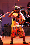 Mos Def at Mos Def Presents: Amino Alkaline - The Watermelon Syndicate with special guest Gil Scott Heron, Produced by Jill Newman Productions held at The JVC JAZZ FESTIVAL/CARNEGIE HALL on JUNE 28. . A consummate emcee, vocalist, musician and actor, it was no surprise when Mos Def premiered the Mos Def Big Band in January 2007, drawing from original compositions plus material by Miles Davis, Beyoncé, James Brown and Gil-Scott Heron. Always willing to bend genres to create his own sound, Mos lithely dances among hip hop, jazz and soul while fronting his orchestra of savvy musicians. His face is as familiar as his sound; his acting credits include Be Kind Rewind, 16 Blocks, Something the Lord Made, Lackawanna Blues and Top Dog/Underdog.  America started hearing Gil Scott-Heron?s messages in 1970, but we heard him loudly and clearly when he declared ?The Revolution Will Not Be Televised? in 1974. A no-nonsense performer and lyricist, he wasn?t called a rapper then, but that?s what he was. Today, his younger counterparts and fans call him the king of spoken word.