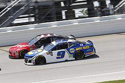 July 1, 2018 - Joliet, Illinois, United States of America - Kurt Busch (41) battles for position during the Overton's 400 at Chicagoland Speedway in Joliet, Illinois  (Credit Image: © Justin R. Noe Asp Inc/ASP via ZUMA Wire)