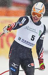 11.03.2010, Kandahar Strecke Herren, Garmisch Partenkirchen, GER, FIS Worldcup Alpin Ski, Garmisch, Men SuperG, im Bild Kostelic Ivica, ( CRO, #5 ), Ski Fischer, EXPA Pictures © 2010, PhotoCredit: EXPA/ J. Groder /SPORTIDA PHOTO AGENCY