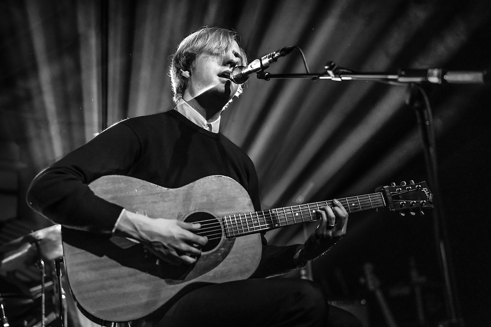 American singer-songwriter Christian Lee Hutson supporting Better Oblivion Community Center at Kantine club in Cologne