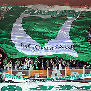 Konyaspor's supporters during their Play Off Second leg match at AliSamiYen Stadium in Istanbul Turkey on Thursday, 20 May 2010. Photo by TURKPIX