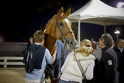 De Brabander Katja, Karline, Kristof en Vigo d'Arsouilles<br /> Alltech FEI World Equestrian Games <br /> Lexington - Kentucky 2010<br /> © Dirk Caremans