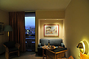 Israel, Eilat Interior of a hotel room King Solomon Hotel