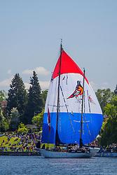 Washington, Seattle, Opening Day of Boating Season