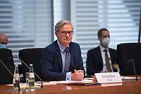 DEU, Deutschland, Germany, Berlin, 23.06.2021: Deutscher Bundestag, Sitzung des Wirtschaftsausschusses, mit Kay Scheller, Präsident des Bundesrechnungshofes.