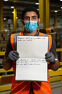 Worked at Amazon for 9 weeks. From Palastine.