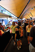 The popular Rocks Markets. The Rocks, Sydney, Australia
