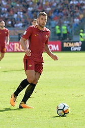 September 23, 2017 - Rome, Italy - Kevin Strootman during the Italian Serie A football match between A.S. Roma and Udinese at the Olympic Stadium in Rome, on september 23, 2017. (Credit Image: © Silvia Lore/NurPhoto via ZUMA Press)