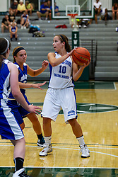 21 June 2014: Rebekah Ehresman (10) , 2014 Girls Illinois Basketball Coaches Association All Start game at the Shirk Center in Bloomington IL