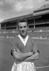 Jimmy Greaves, 17-year-old star with Chelsea.