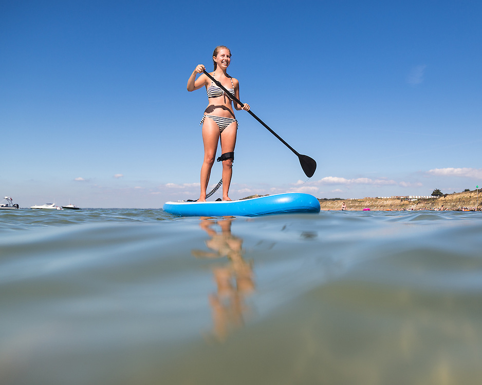 Stand-up Paddleboard at Colwell Bay