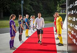 Tim Max Elsnik of NK Olimpija Ljubljana during the draw for 1st. round of Slovenian National Leage 1 and 2 on 01.07.2021 on Brdo pri Kranju, Slovenia. Photo by Urban Meglič / Sportida