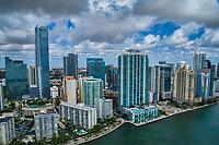 Miami - Brickell Financial District Skyline