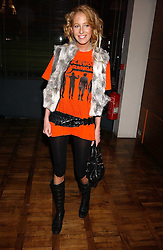 The HON.SOPHIA HESKETH at a party to celebrate the publication of 'E is for Eating' by Tom Parker Bowles held at Kensington Place, 201 Kensington Church Street, London W8 on 3rd November 2004.<br /><br />NON EXCLUSIVE - WORLD RIGHTS