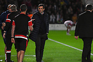 Jack Ross, Manager of Sunderland after the final whistle during the EFL Sky Bet League 1 match between Doncaster Rovers and Sunderland at the Keepmoat Stadium, Doncaster, England on 23 October 2018.