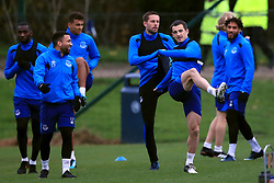 Everton's Leighton Baines (second right) during the training session at Finch Farm, Liverpool. PRESS ASSOCIATION Photo. Picture date: Wednesday November 22, 2017. See PA story SOCCER Everton. Photo credit should read: Peter Byrne/PA Wireduring the training session at Finch Farm, Liverpool. PRESS ASSOCIATION Photo. Picture date: Wednesday November 22, 2017. See PA story SOCCER Everton. Photo credit should read: Peter Byrne/PA Wire