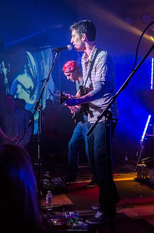 John Shields and Brett Haenn of Long Miles performing at The Blockley in Philadelphia, PA.