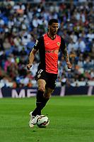 Almeria's Edgar Antonio Mendez during 2014-15 La Liga match between Real Madrid and Almeria at Santiago Bernabeu stadium in Madrid, Spain. April 29, 2015. (ALTERPHOTOS/Luis Fernandez)