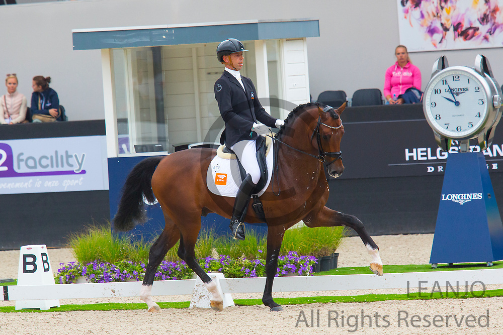 Hans Peter Minderhoud - In Style<br /> FEI World Championships Young Dressage Horses 2019<br /> © DigiShots