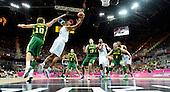 20120802 France Basketball Jeux Olympiques Londres premier tour Basketball Arena