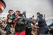 """9th of Jan 2016<br /> <br /> Dramatic rescues as refugee deaths in Aegean reach record high<br /> <br /> A young Syrian child is lifted to safety from an overloaded open boat carrying 55 migrants. A distress call had been made from the boat to say they had lost engine power and were drifting in the heavy swell. The SAR team launched their fast rescue craft and brought the migrant boat next to the MOAS mothership, Responder. It was an extremely challenging rescue because of the heavy sea swell, but all the migrants were safely brought aboard.<br /> <br /> ATHAGONISI - Search and rescue charity Migrant Offshore Aid Station (MOAS) has assisted hundreds of refugees from hostile seas between Turkey and Greece since it began operating in the region just before Christmas.<br />  <br /> The MOAS crew has witnessed shocking scenes of life and death, having led complex deep water and nearshore rescues over the past four weeks. The human toll has been described as """"distressing"""" and """"desperate"""" by reporters who have been embedded with MOAS.<br />  <br /> MOAS, which saved almost 12,000 refugees from the Mediterranean Sea since 2014, expanded its operations to the Aegean Sea thanks to thousands of donations that reached the organisation after the horrific death of Alan Kurdi, a Syrian toddler who was photographed washed ashore on a Turkish beach last September.<br />  <br /> The charity is operating off the Greek island of Agathonisi from a 51-metre vessel equipped with two fast rescue launches named after Alan and his brother Galip, who also died in September's shipwreck.<br />  <br /> According to the International Organisation for Migration (IOM), 2016 appears to be a record year for both refugee arrivals and deaths at sea. In the first three weeks, fatalities have already reached 113, which is more than the past two Januaries combined. In the same three-week period, some 37,000 migrants and refugees have reached Italy and Greece by sea, which is 10 times the total of 2015.<b"""