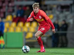 Oliver Antman (FC Nordsjælland) under kampen i 3F Superligaen mellem FC Nordsjælland og AC Horsens den 19. februar 2020 i Right to Dream Park, Farum (Foto: Claus Birch).