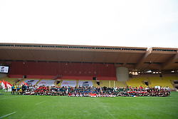TABLOID OUT WEB & PRINT - Sainte Devote Rugby Tournament at Louis II Stadium in Monaco, on May 11, 2019. Photo by David Niviere/ABACAPRESS.COM