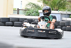 Karting with Cricketers