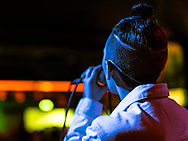 Margrét Rán of Icelandic indie-electro band Vök at Iceland Airwaves