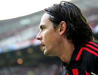 "Filippo Inzaghi (Milan) <br />Italian ""Serie A"" 2006-2007<br />14 Jan 2007 (Match Day 19)<br />Milan-Reggina (3-1)<br />""Giuseppe Meazza"" Stadium-Milano-Italy<br />Photographer:Jennifer Lorenzini INSIDE"