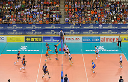 20150613 NED: World League Nederland - Finland, Almere<br /> Topsporthal Almere view