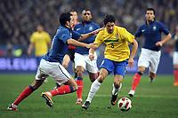 FOOTBALL - FRIENDLY GAME 2010/2011 - FRANCE v BRAZIL - 9/02/2011 - ADIL RAMI (FRA) / PATO (BRA) - PHOTO FRANCK FAUGERE / DPPI