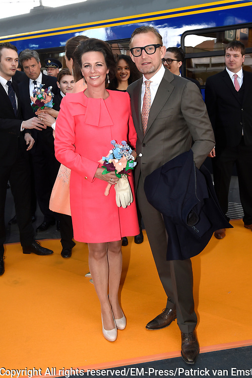 Koningsdag 2017 in Tilburg / Kingsday 2017 in Tilburg<br /> <br /> Op de foto / On the photo:  Prins Bernhard en prinses Annette / Prince Bernhard en Princess Annette