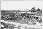 First Indiana Heavy Artillery (formerly the Twenty-first Indiana Infantry), was supplied to the Confederate leaders in the Southwest by Lytle, the Baton Rouge photographer who was really a member of the Confederate secret service. from the book ' The Civil war through the camera ' hundreds of vivid photographs actually taken in Civil war times, sixteen reproductions in color of famous war paintings. The new text history by Henry W. Elson. A. complete illustrated history of the Civil war