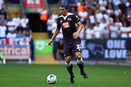 Stephen Warnock of Derby County in action. Skybet football league championship match, Bolton Wanderers v Derby County at the Macron stadium in Bolton, Lancs on Saturday 8th August 2015.<br /> pic by Chris Stading, Andrew Orchard sports photography.