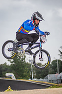 2021 UCI BMXSX World Cup<br /> Round 4 at Bogota (Colombia)<br /> Qualification Moto<br /> ^me#120 PELLUARD, Vincent (COL, ME) GW, Nologo