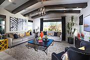 Modern Design Living Room Stock Photo